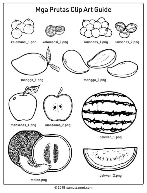 Fruits clip art images thumbnail