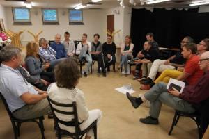 Ett samtal under iS! årskonferens, 2013