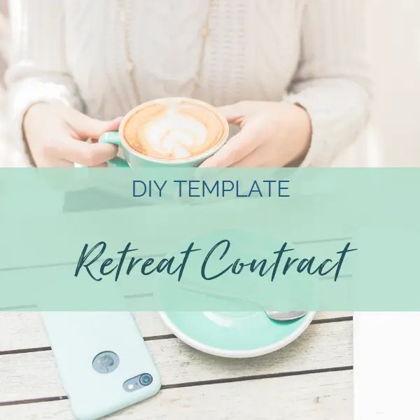 yoga retreat contract