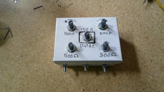 Voltage Divider Test Tool