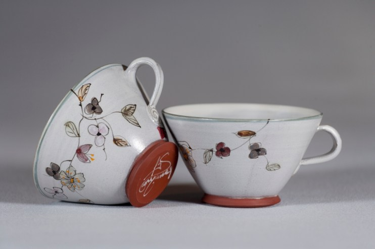 Tasses à thé G.Noron