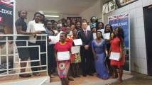 Tech Women with the British High Commissioner