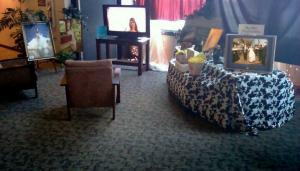 Wedding Video Booth setup