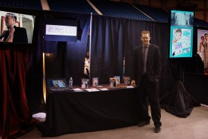 San Angelo Wedding Video booth at the wedding show