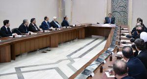 Cabinet-sworn-presidnet-al-Assad 5