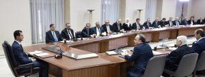 Cabinet-sworn-presidnet-al-Assad 7
