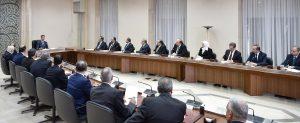 Cabinet-sworn-presidnet-al-Assad 9