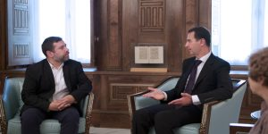 President-al-Assad-European-Parliment-delegation 3