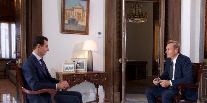 president-al-assad-denmark-tv2-channel-interview-1