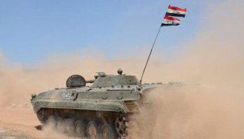 陸軍はダラーアのバス・アル・ハリールとマリハット・アル・アタッシュ、アル・ヒラックとナヒタの進歩を支配する