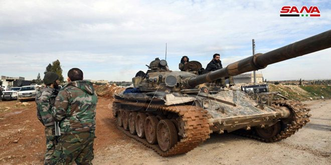 SYRIAN ARMY BATTERS HTS AND LIBERATES A SLEW OF TOWNS AND VILLAGES; RUSSIA SAYS NO COUNTER ATTACK BY TURKS IN IDLIB DISPROVING SYRIAN OBSERVATORY'S FALSE CLAIMS 1