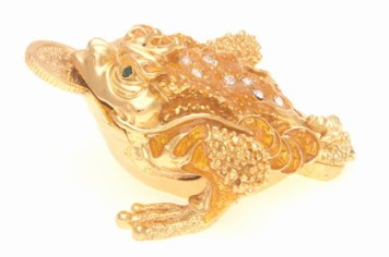 The 3-Legged Toad. Please make sure when buying this you choose a three legged toad, there are some who sells the image of the frog. It's not the same. It has to be the three-legged toad and choose the one with a coin in its mouth.