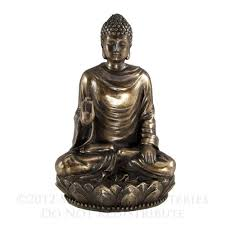 Rare form of the image of Shakyamuni Buddha, which I like better because His other hand is in the Mudra of a Blessing!