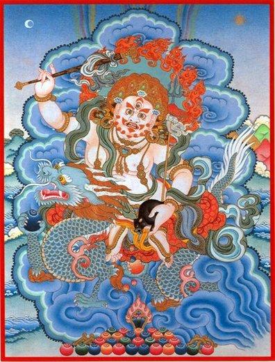 white-dzambhala