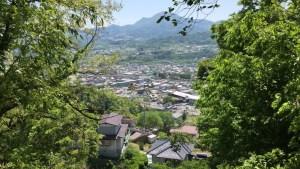 沼田城からの眺め