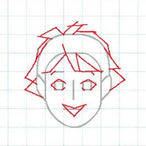 マス目の顔10a2