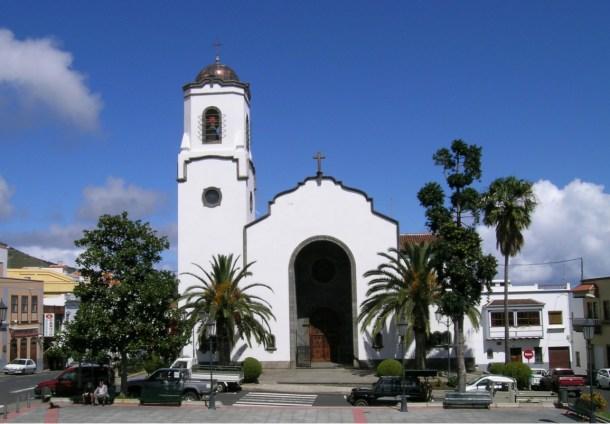 Iglesia de Nuestra Señora de Monserrat · Los Sauces · San Andrés y Sauces