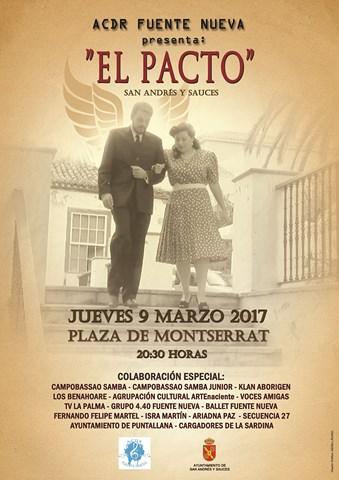 CARTEL MUSICAL EL PACTO 2017