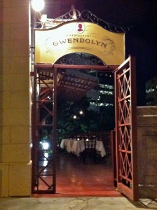 Gwendolyn: 100 percent strictly local ingredients. File photo.