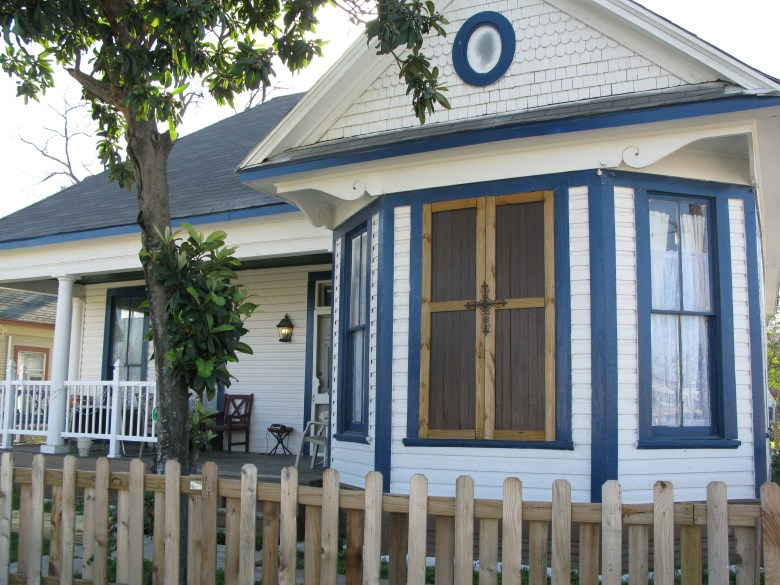 A charming rehabilitation of a formerly ramshackle home in the Lone Star neighborhood.