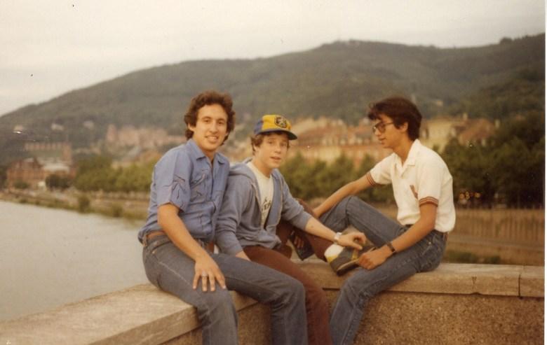 Dan Lazarine as a boy in Germany