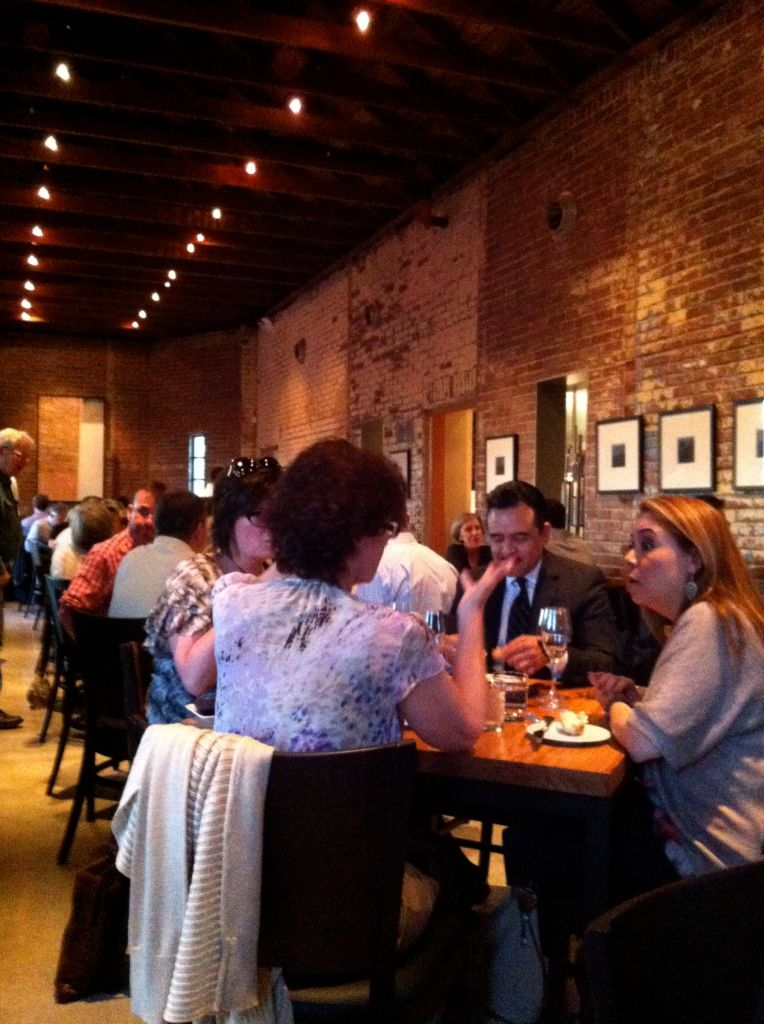 Full house at Bliss in Southtown. Photo by Robert Rivard.