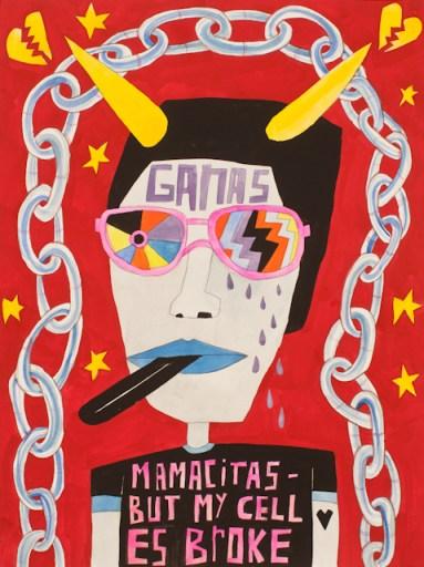 "Cruz Ortiz draws in the ""crazy people"" of this city in his art happenings."