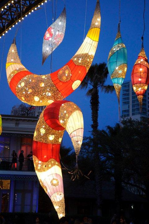 Luminaria in San Antonio is a festival of light.