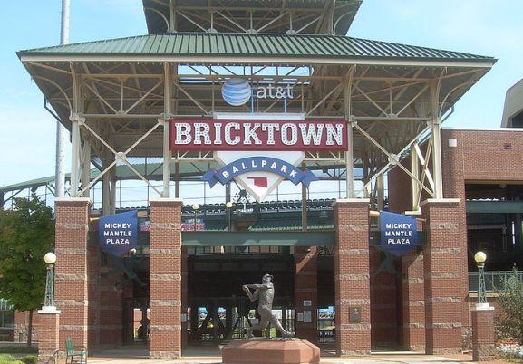 Bricktown Ballpark in the heart of Bricktown.