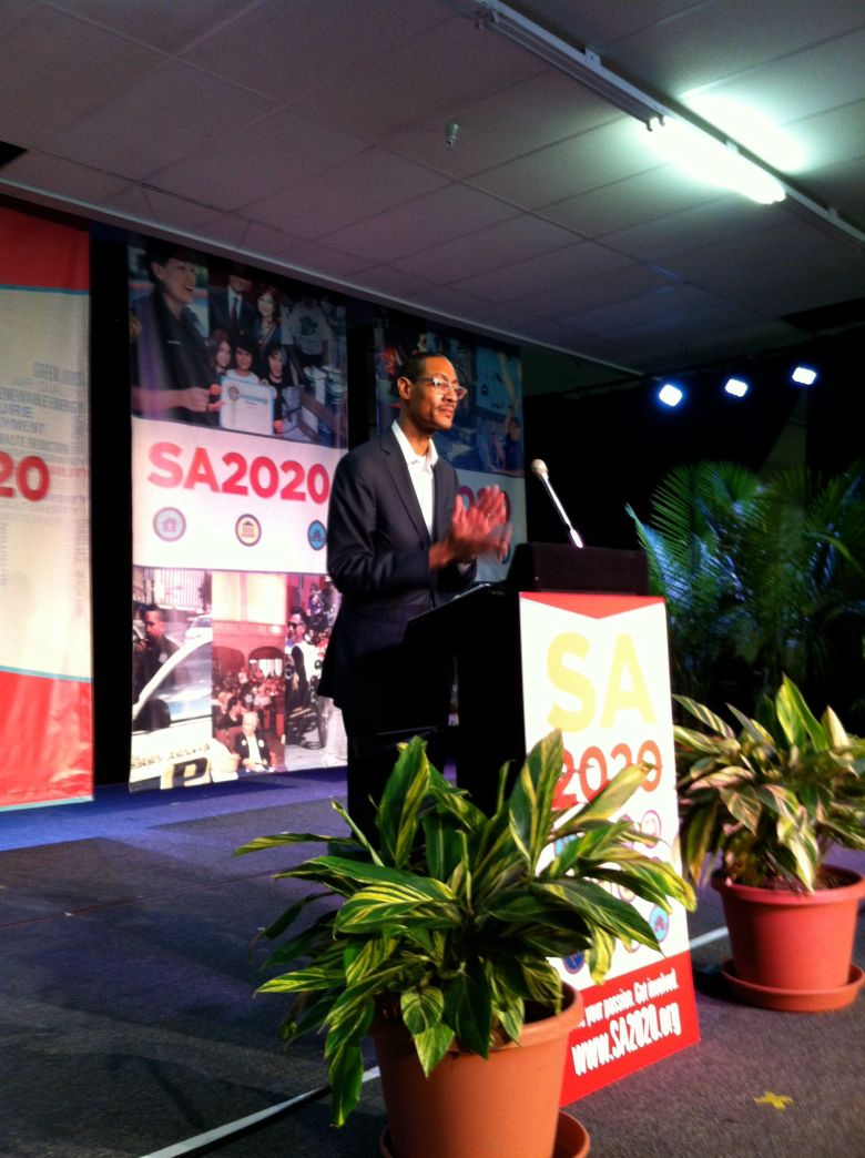 """SA2020 CEO Darryl Byrd asks supporters to become """"investors."""""""