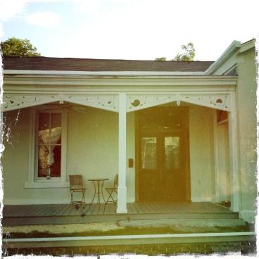 Sawalha found her spot in an 1871 Lavaca home.