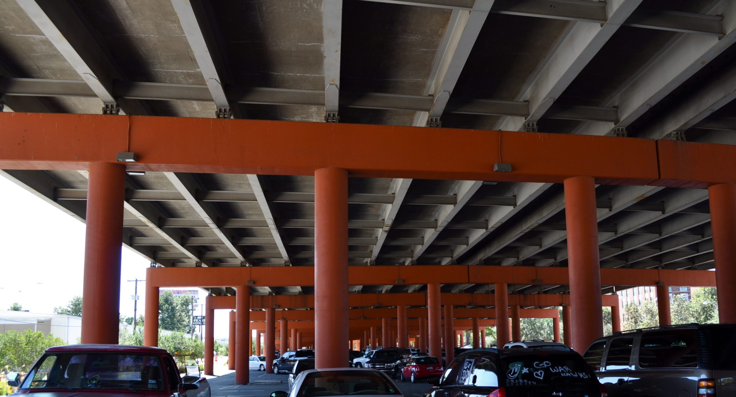 Pearl Parking underpass