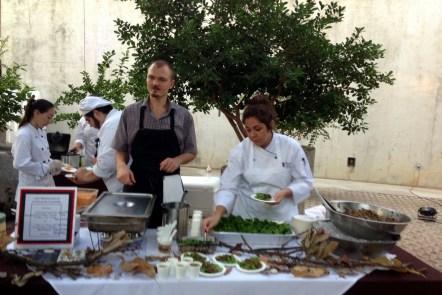 Chef Michael Sohocki, Restaurant Gwendolyn at Slow Food Gala