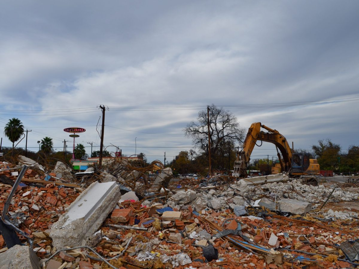 So far, the site of the San Antonio Children's Museum is comprised of piles of rubble.