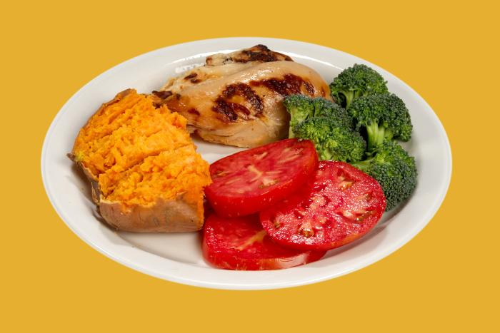 You can cut calories without eating less nutritious food. The key is to eat foods that will fill you up without eating a large amount of calories.