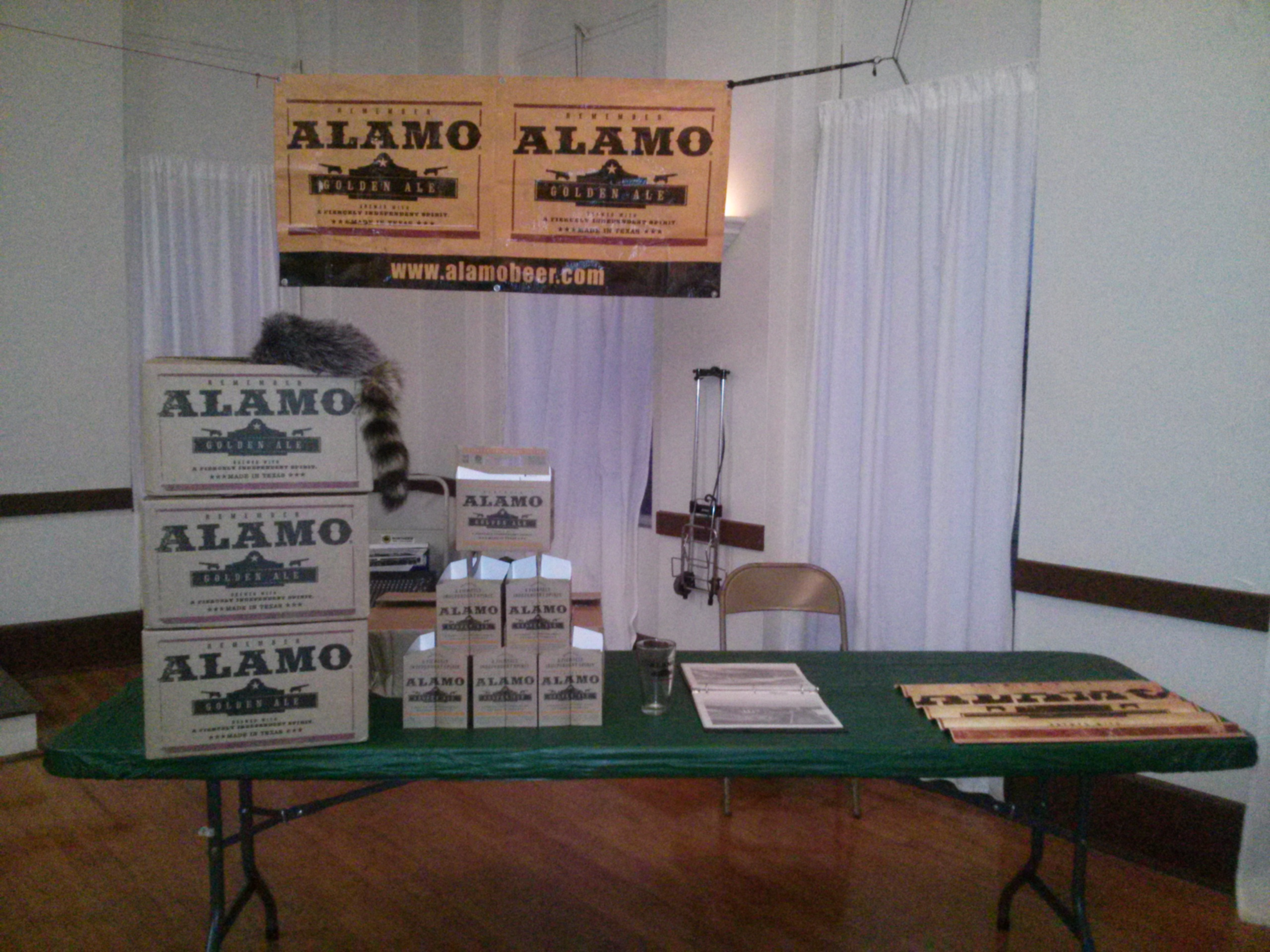 """Alamo Beer Company, another San Antonio brewery, sponsored the """"Views and Brews"""" event."""