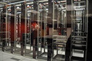 Among other small startups, Rackspace hosted the first three servers for YouTube, which remain behind glass at the Open Cloud Academy.