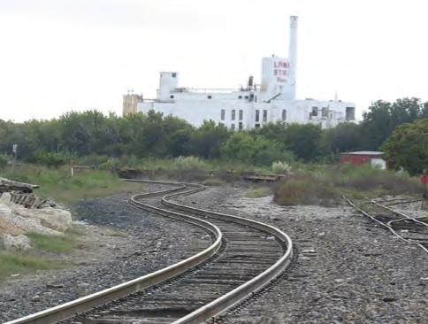 Lone Star Brewery Train Tracks