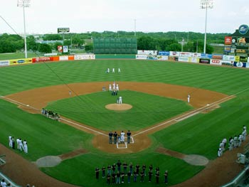 The Missions ballpark, Nelson Wolff Municipal Stadium at Highway 90 and Callaghan Road.