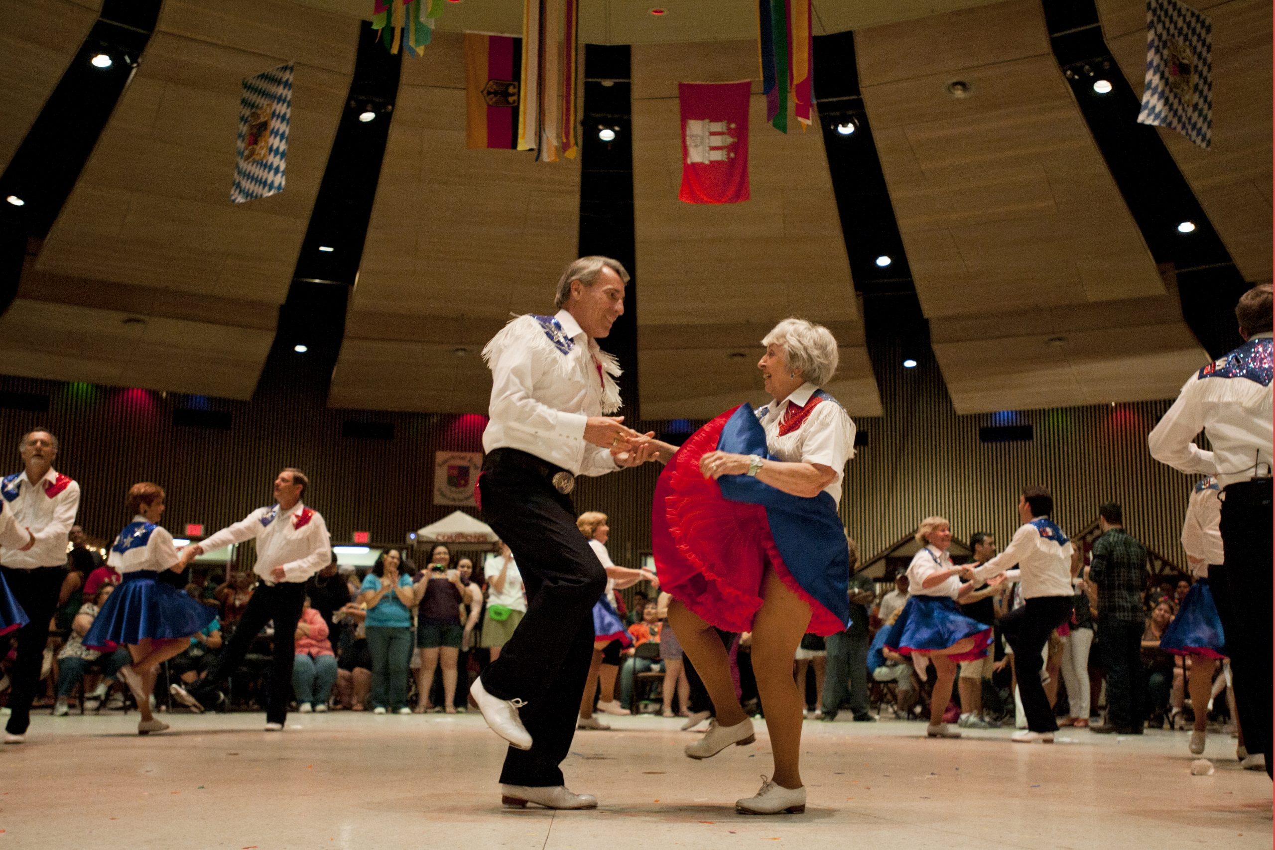 A cultural dance during the NIOSA festivities. Photo by Corey Leamon.