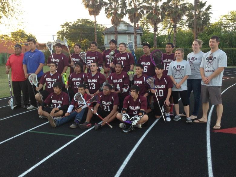 The Highlands High School Lacrosse Team. Photo by Bekah McNeel.