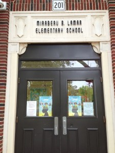 Lamar Elementary, a traditional middle school