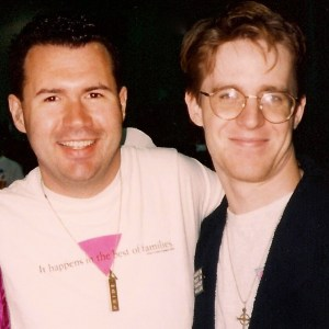 Hugh and Brian