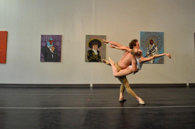 "Ballet San Antonio members perform ""Da Luz."" Photo by Iris Dimmick."