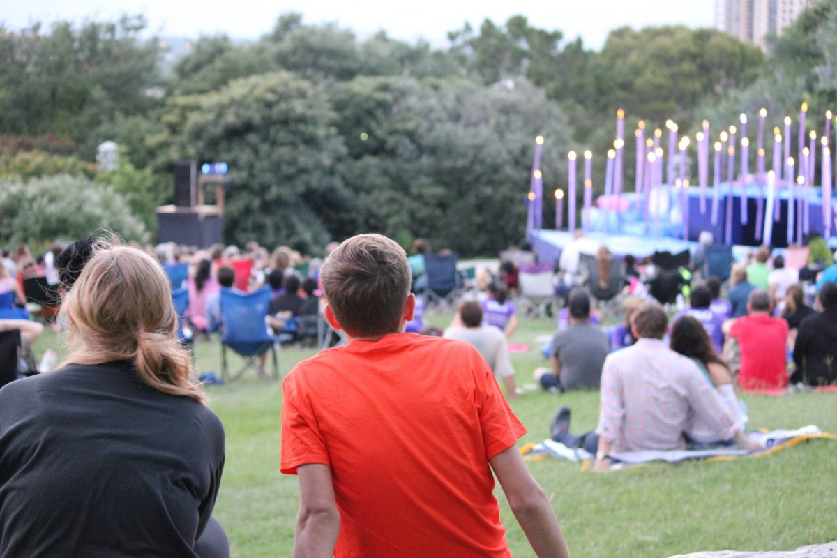 It's not just for kids, all ages are encouraged to come out and enjoy Shakespeare In The Park. Photo by Melanie Robinson.