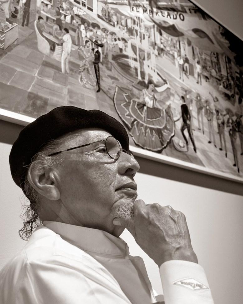 Jorge Cortez, artist and restaurateur. Photo by Al Rendon.