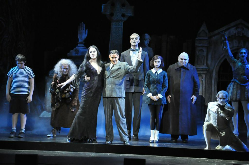The Adams Family performs at the Majestic Theatre.