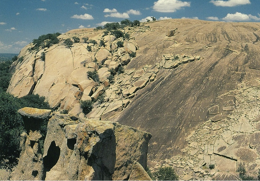 Enchanted Rock, 1991. Photos courtesy of Don Mathis.