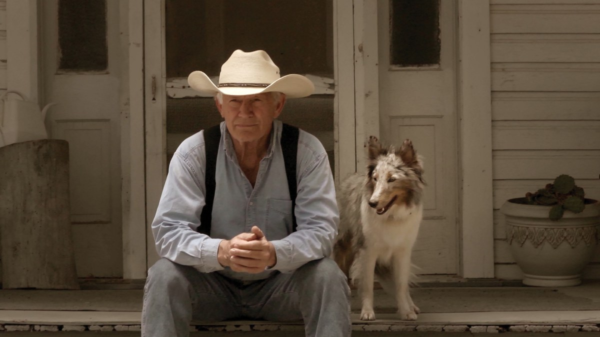 """Lance Henriksen and Scout are now best buds on the ranch in the film, """"Champion."""" Courtesy photo/production still."""