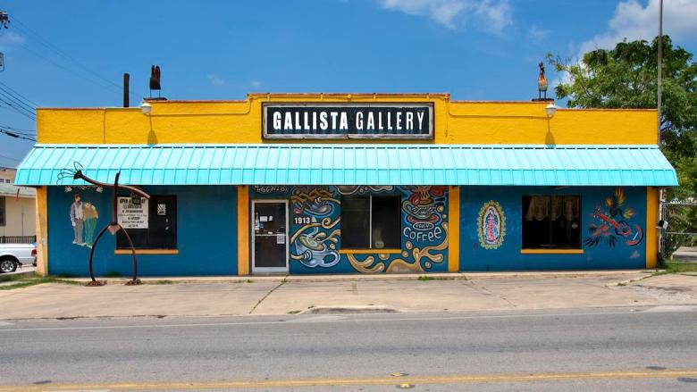 """The Gallista Gallery, """"Welcome to the other side of the tracks."""" Photo courtesy of gallistagallery.com."""